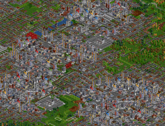 Cities in OpenTTD can grow to enormous sizes.