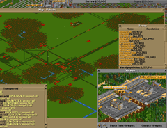 Massive, just massive…and it can be thanks to OpenTTD.Large factories average just under 20,000 units.  1,126 ships transport passengers and mail to grow city sizes. 26 aircraft carry valuables to a central location where they pick up valuables from other banks based on landing order (Bottom-left).