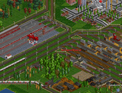 Elrails, UK Renewal Set and newstations. Wow, this is just an awesome industrial area