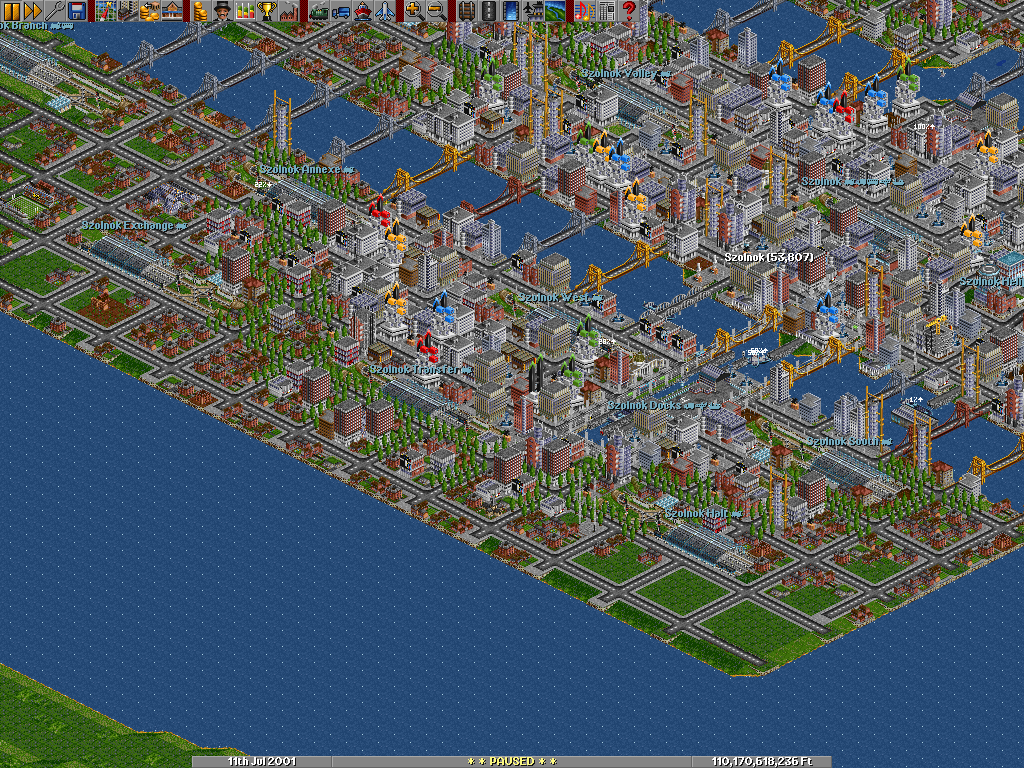 A mega-city in the making.